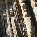 Donostia-Peine del Viento - roche zoomée