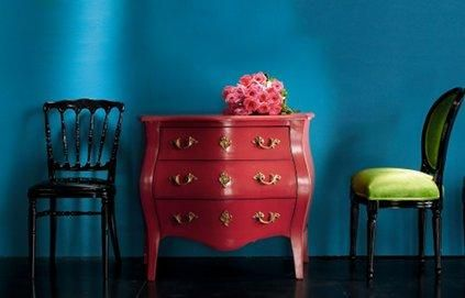 commode baroque une very stylish fille by changer de d co. Black Bedroom Furniture Sets. Home Design Ideas