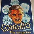 Affiche de magie magic posters conchito the magican magie prestidigitation illusionnisme