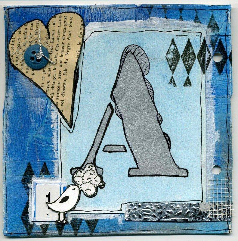 Art (tryptique), partie 1 (15X15) avril 2008