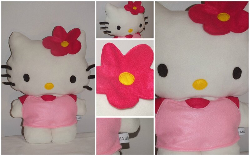 Peluche Hello Kitty 40 cm - Prix : 20€