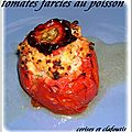 TOMATES FARCIES AU POISSON 