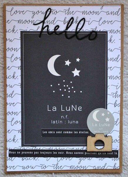 Carte pour Flavie de Lolotte - Décembre 2016