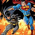Batman-superman ennemis publics sur france 4