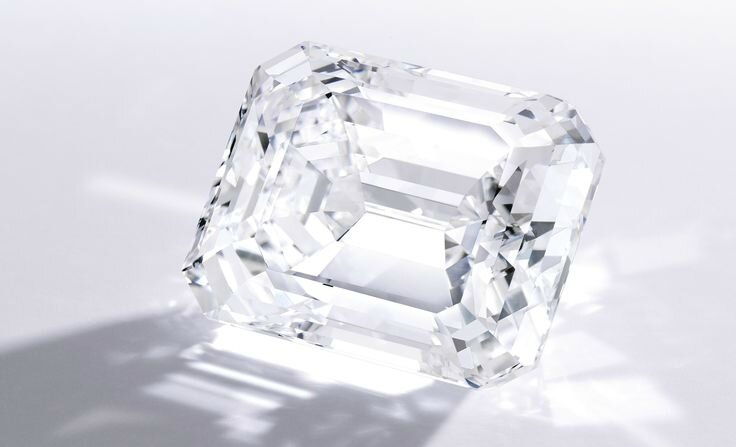 A Spectacular Emerald-Cut Diamond