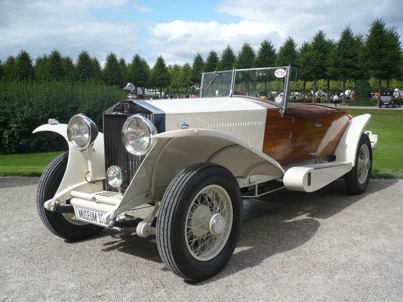 ROLLS ROYCE Phantom II boattail Tourer 1933 Schwetzingen OK(1)