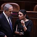 Ayelet shaked s'en prend publiquement à natanyahou