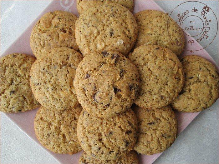 Cookies aux deux chocolats 2