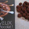 Truffe au chocolat noir