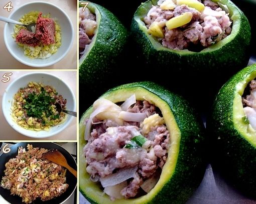 montage 2 courgettes
