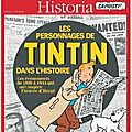 Les personnages de Tintin dans l'Histoire.
