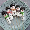 Diy - les bonshommes de neige à croquer !