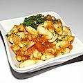 Lingots blancs à la tomate et au garam massala ( recette veggie )