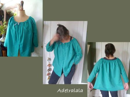 blouse turquoise 1