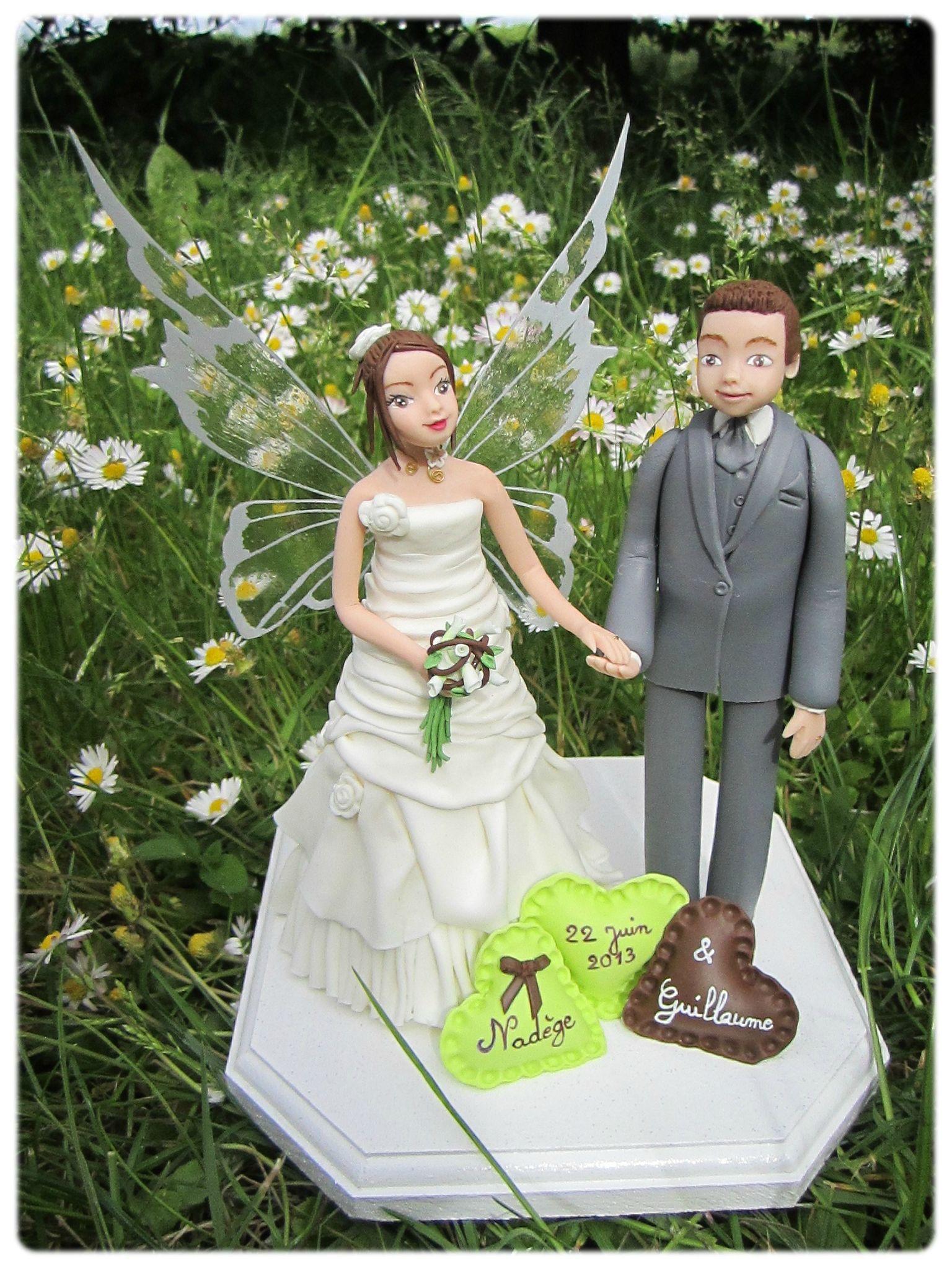 figurines mariés personnalisées