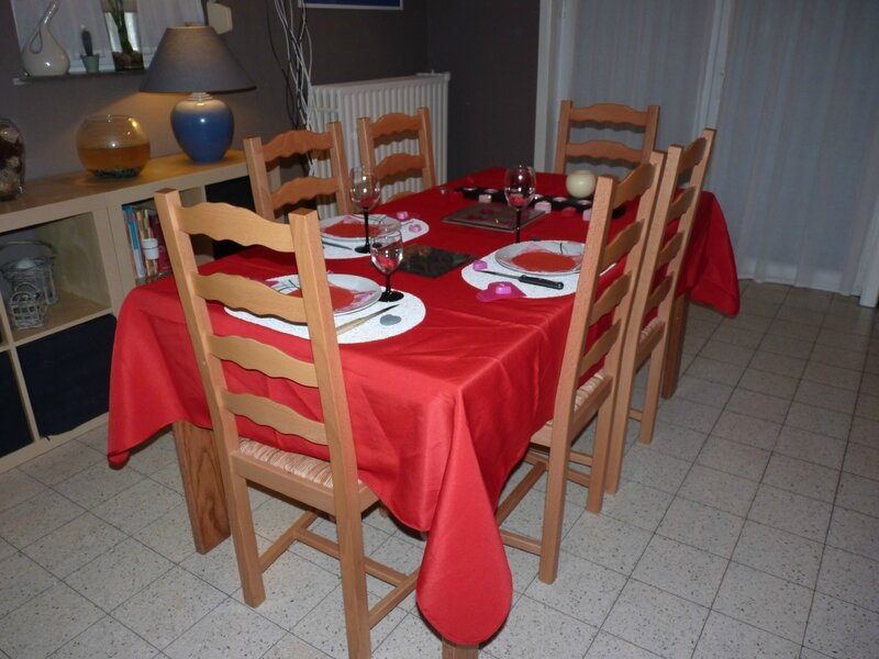 Table St-Valentin 2013