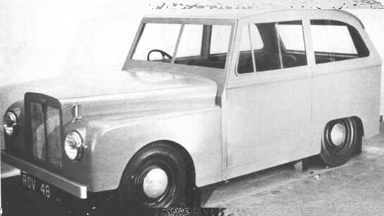 1951 Land Rover Road Rover Prototype