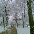 Première neige en aveyron