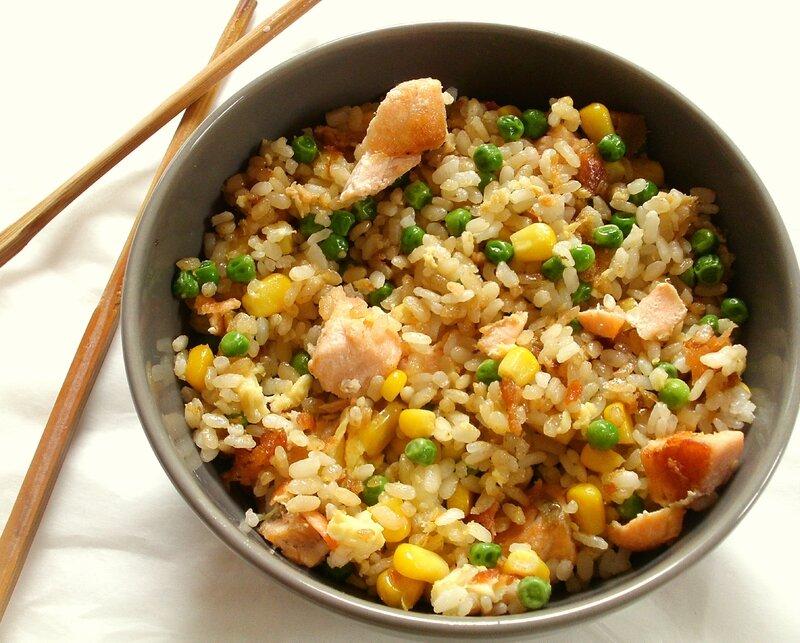 recette de riz cantonais 2