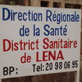 Visite du centre de soins dentaires du district de Léna à Bobo