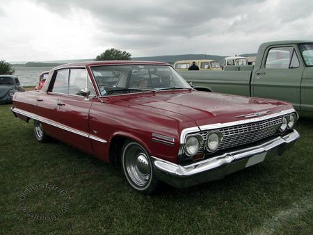 chevrolet impala sport hardtop sedan 1963 retro meus auto madine 2011 1