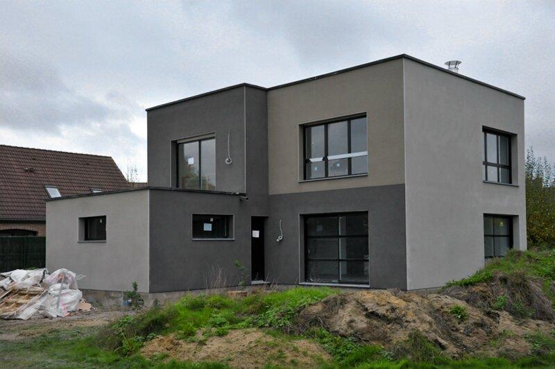 notre maison cubique construite par maisons logifrance page 2 notre maison cubique. Black Bedroom Furniture Sets. Home Design Ideas