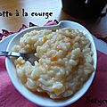 Risotto a la courge