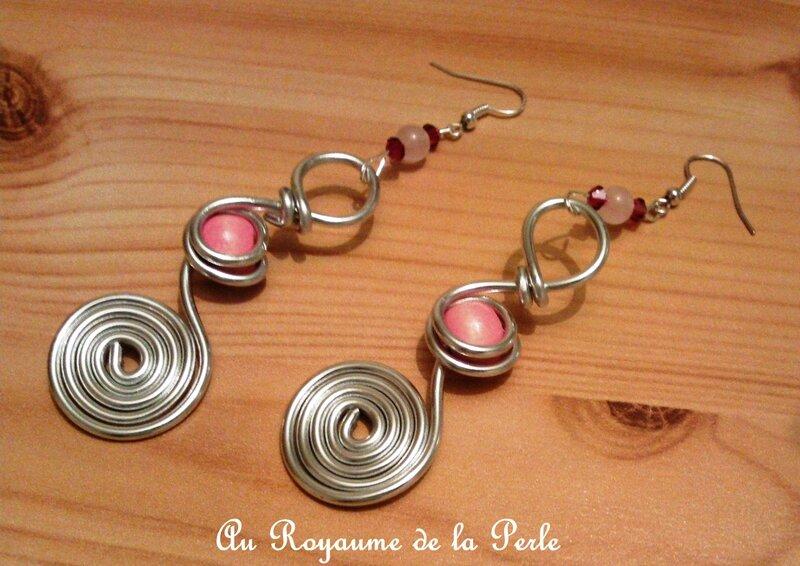 BO rose aluminium quartz Nathalie Lamazec