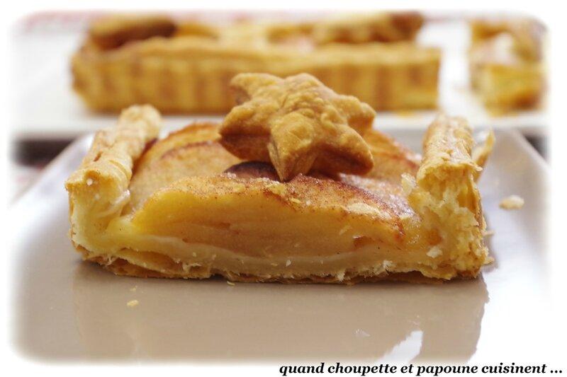 tarte pommes-cannelle pâte feuilletée maison-7053