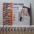 Avril Lavigne for Sally Hansen-Panneau promotionnel-Amérique du Nord (2012)