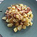 Salade de pommes de terre tièdes