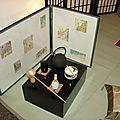 Table de cérémonie du thé
