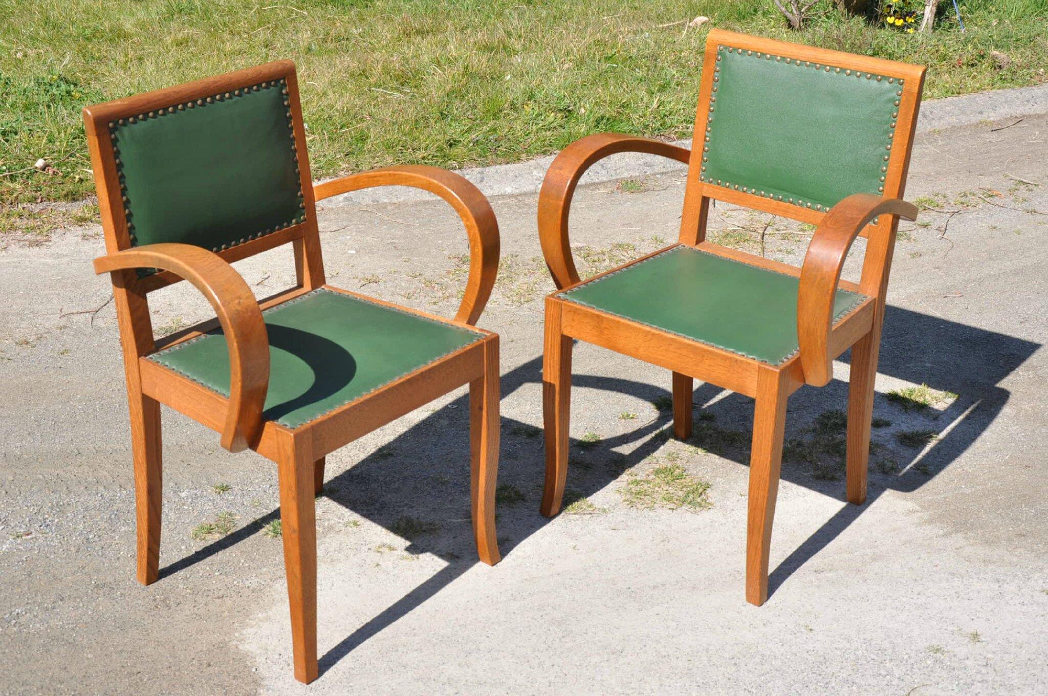 fauteuils bridge annees 50 antiquit s du vingti me. Black Bedroom Furniture Sets. Home Design Ideas