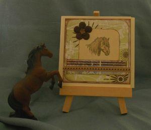 carte cheval