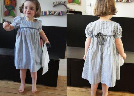 robe raies grises 2