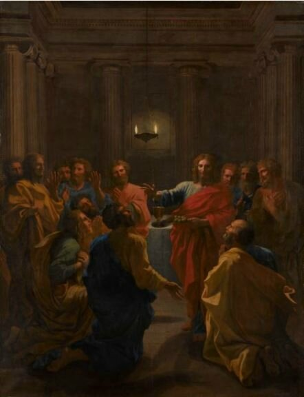 Nicolas Poussin (1594-1665), L'Institution de l'eucharistie, 1640- 1641