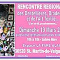 Expo st martin de valgalgues 19 mars