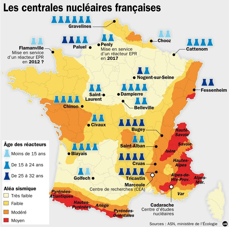 Centrales-nucleaires-francaises