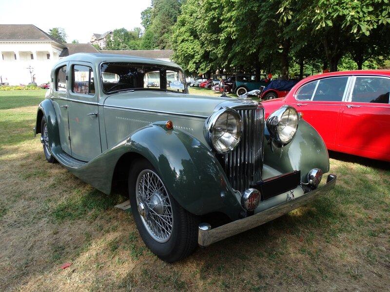 JAGUAR Mark IV 2 1-2 litre Saloon 1936 Baden Baden (1)