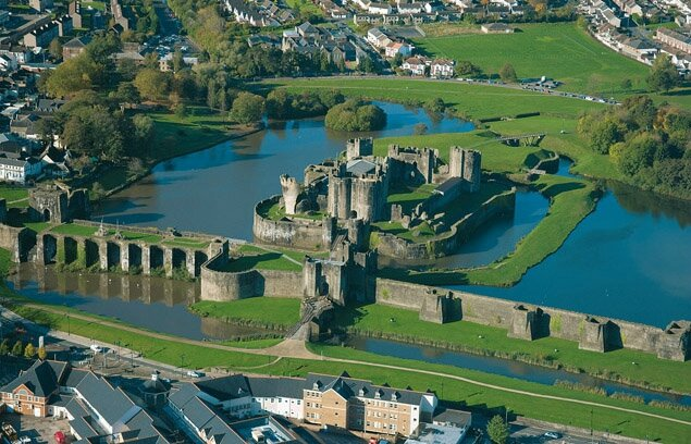 Caerphilly_aerial