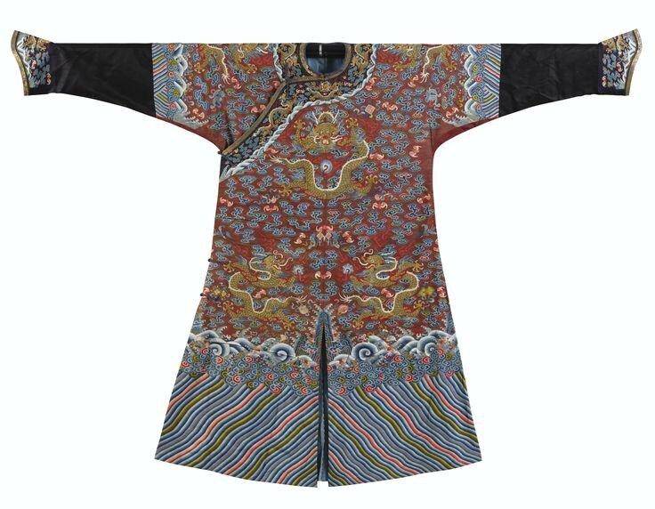 Robe en soie tissée, kesi, Dynastie Qing, XIXe siècle