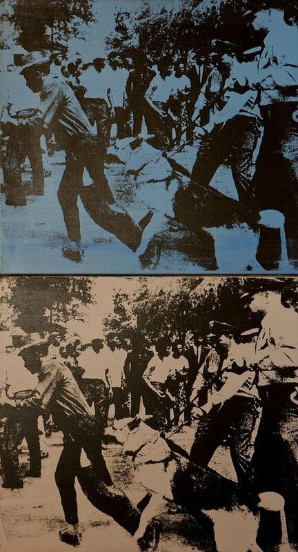 Andy Warhol's Little Race Riot, 1964