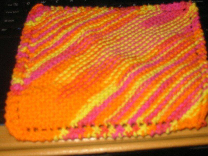 apprendre a tricoter des lavettes