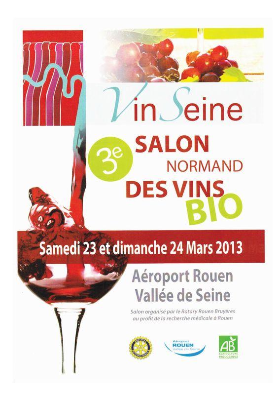 vinseine salon des vins bio rouen 23 24 mars 2013