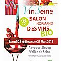 VinSeine, salon des vins bio (Rouen 23 & 24 mars 2013)