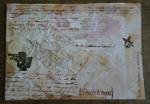 Mail Art juliloueva n°3