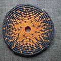 Frisbee soleil fond gris #fsg000110