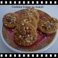 cookies dukan muesli