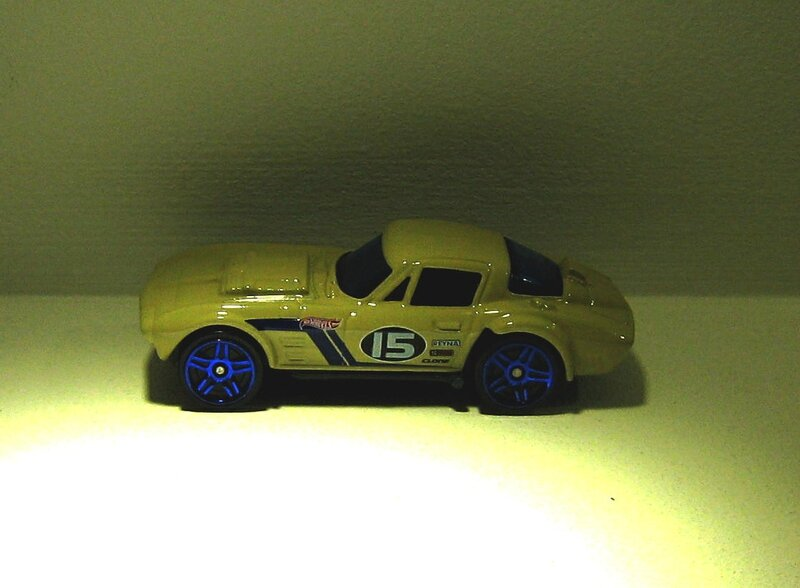 Chevrolet corvette grand sport (Hotwheels 2012)