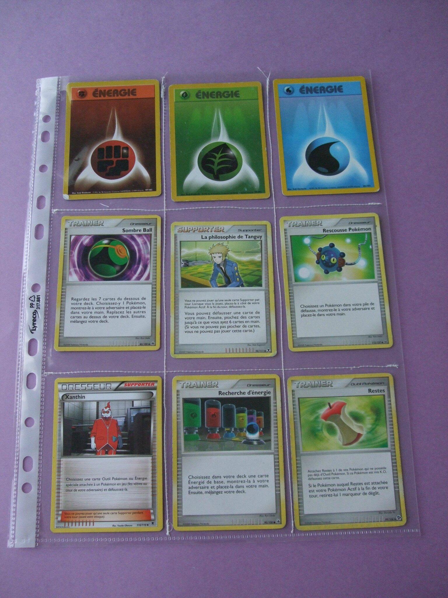Des pochettes pour des cartes pokemon tuto insaide - Pochette plastique pour carte postale ...